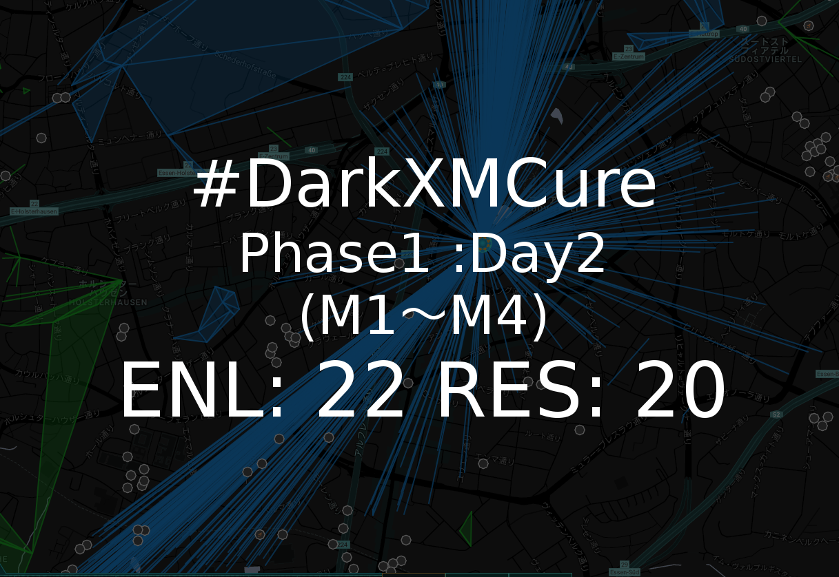 ingress Darkxmcure phase1day2m1-m4